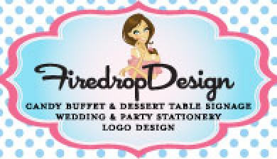Firedropdesign-party-printables-logo