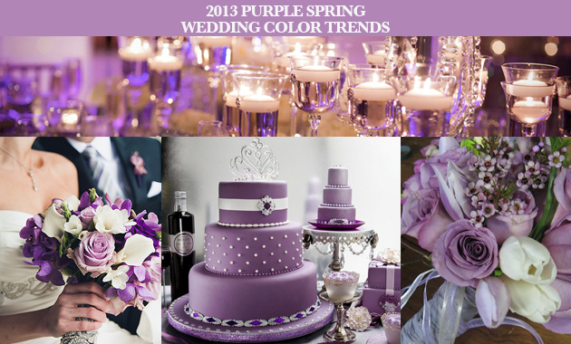 a6282d71c268f Party Simplicity 2013 Purple Spring Wedding Ideas and Inspiration