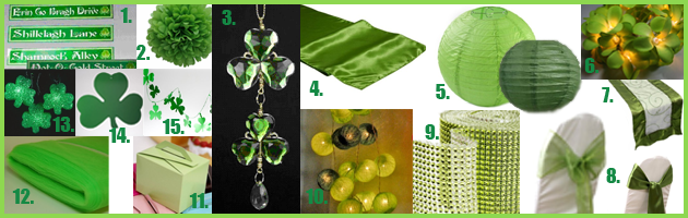 AmazonDecorations Party Simplicity Saint Patricks Day Wedding Celebrations