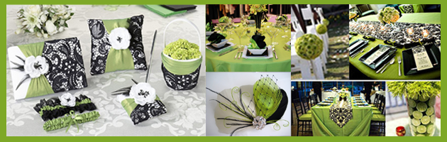 GreenBlackWhite Party Simplicity Saint Patricks Day Wedding Celebrations