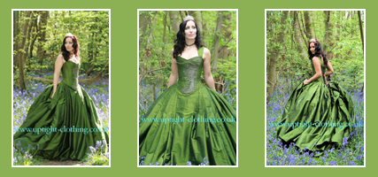 GreenGowns1 Party Simplicity Saint Patricks Day Wedding Celebrations