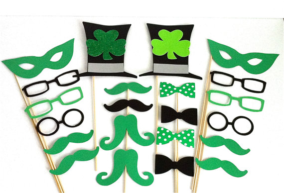 Photo Booth Party Simplicity Saint Patricks Day Wedding Celebrations