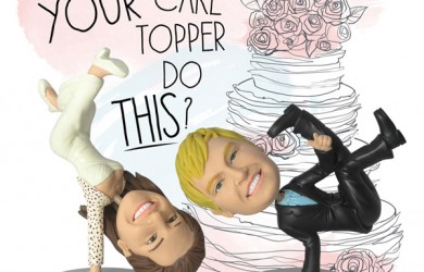 Dream Cake Toppers