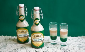 drinks 300x183 Party Simplicity Saint Patricks Day Wedding Celebrations