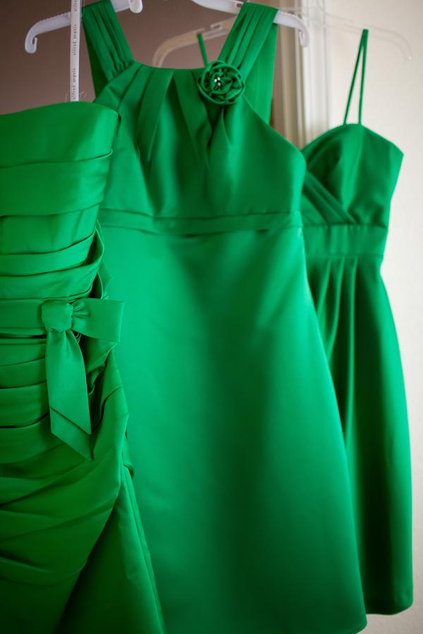 green bridesmaid dresses 1 Party Simplicity Saint Patricks Day Wedding Celebrations