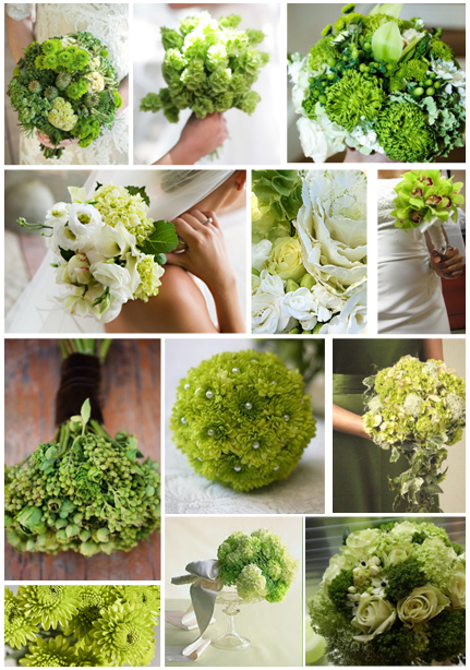 green flower 1 Party Simplicity Saint Patricks Day Wedding Celebrations