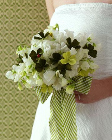 green flower 9 Party Simplicity Saint Patricks Day Wedding Celebrations