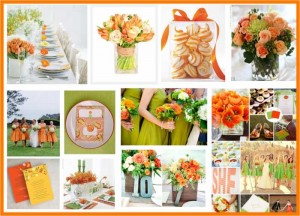 orange and green 700x504 300x216 Party Simplicity Saint Patricks Day Wedding Celebrations