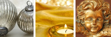silver and gold christmas party ideas