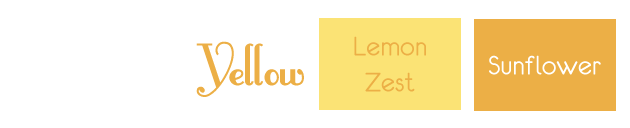 yellow 2013 wedding color trend