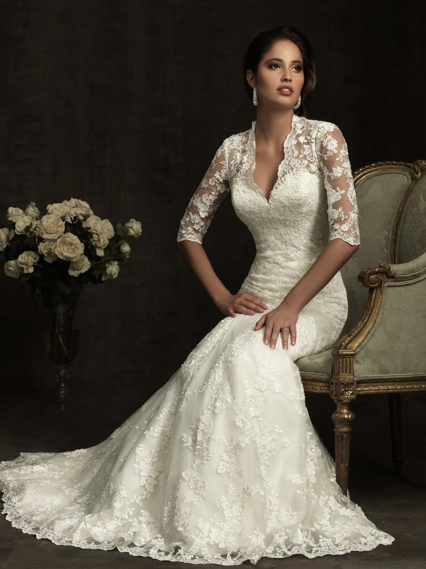 Allure Bridal Gown Party Simplicity Saint Patricks Day Wedding Celebrations