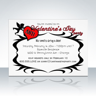 Popular Anti Valentines Day Party Singles Invitations 310 Party Simplicity Anti Valentines Day Party Ideas