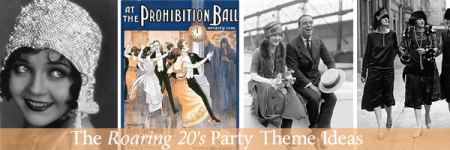 Roaring 20s party themes