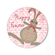 cute bunny rabbit easter stickers p217956654113285020en8ct 190 Party Simplicity Free Easter Printables Kids Coloring Pages and More