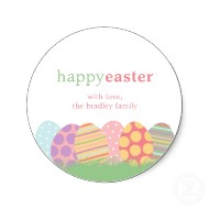 easter eggs favor stickers or gift tag stickers p217310990937614415en8ct 190 Party Simplicity Free Easter Printables Kids Coloring Pages and More