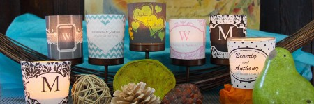 Free Printables Wedding Votive Candle Wraps
