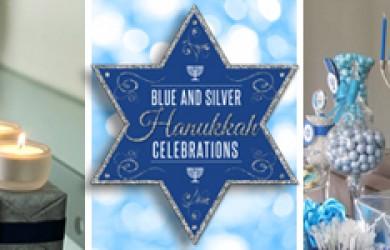 Blue and Silver Hanukkah Celebrations