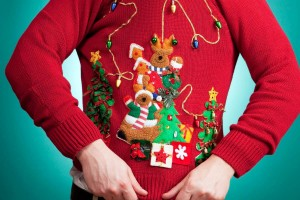 Tacky Christmas Sweater 300x200 Party Simplicity Hosting an Ugly Christmas Sweater Party