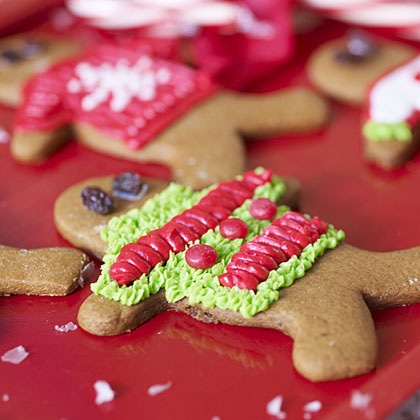 Ugly Christmas Sweater Gingerbread Man Cookies
