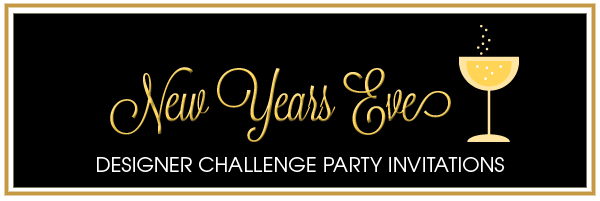 Party Simplicity New Year's Eve Party Invitations  Party Simplicit...