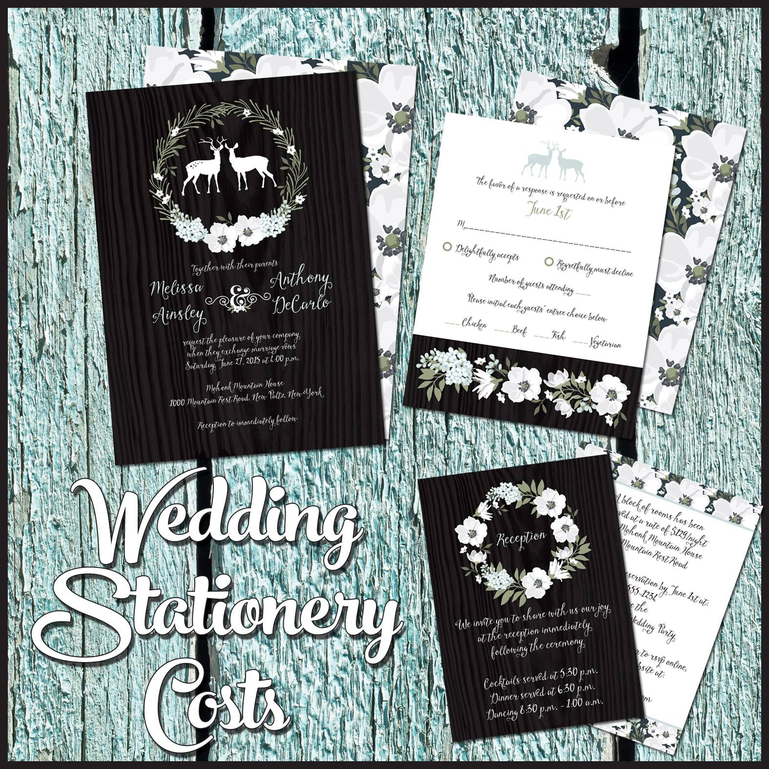 Party simplicity how much should i spend on wedding Wedding invitation cost