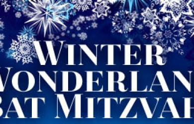 Winter Wonderland Bat Mitzvah Invitations and Ideas Featured Image