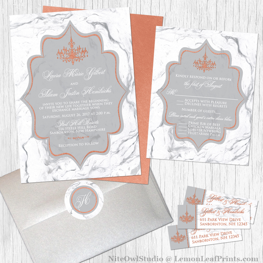 Party Simplicity 2017 Wedding Invitation Trends Party